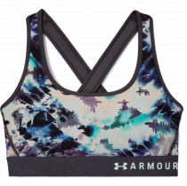 under armour Armour Mid Crossback Printed Bra  1307213-590